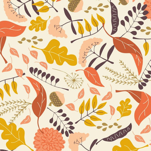 Autumn Path Tea Towel