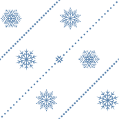 Spotty Stripes and Snowflakes