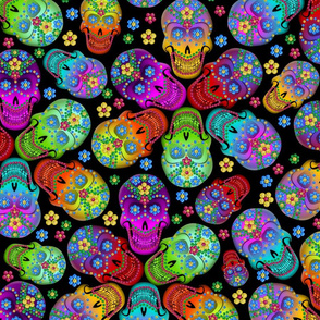 Colorful Calaveras