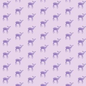 Dear Deer in Lavender Two Tone