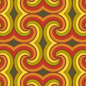 spiral8 - furled fall foliage