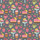 sweets pattern characters