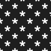 black and white star v1