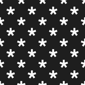 black and white star v1