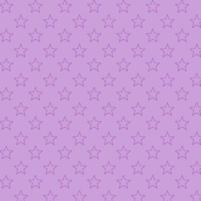 Large Light Purple stars on Light Purple Background