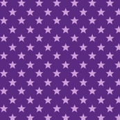 Large Light Purple stars on Dark Purple Background
