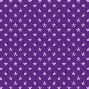 Large Purple Stars on Dark Purple