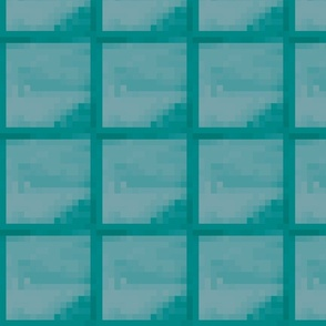 Pixelated Diamond Blocks - Medium