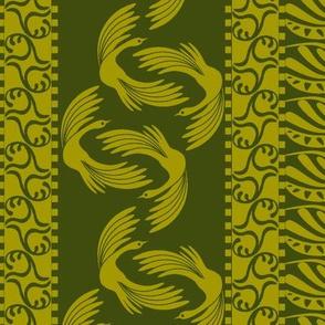 swan stripe moss
