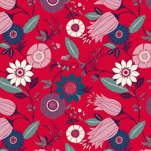 Elfengarten Floral Print