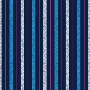 Mediterranean Stripe - Dark