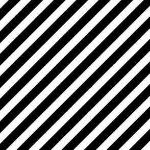 black white diagonal stripe