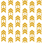 golden yellow chevron stripe