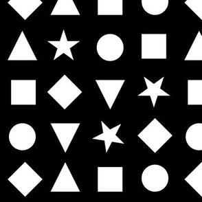 shapes bw