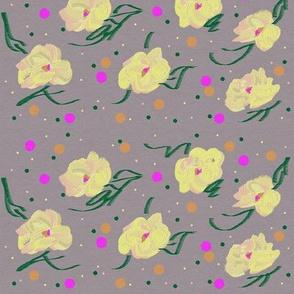 polka-dot petals