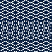 navy white aztec triangles