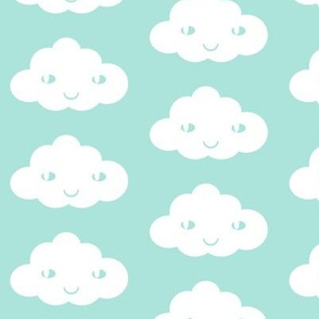 happy cloud  mint
