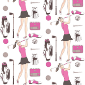 Golf-Girl-and-accessories