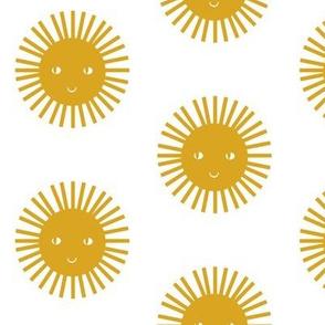 happy sun mustard