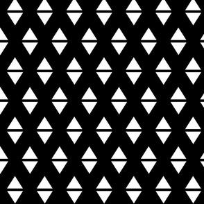 white black triangle