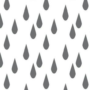 rain drop charcoal
