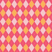 Pink Argyle