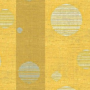 Blue Moon - yellow & gold stripe