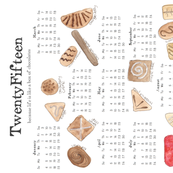 2015 Chocolates calendar FQ Kit