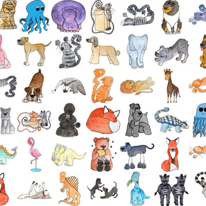 "6"" Animals"