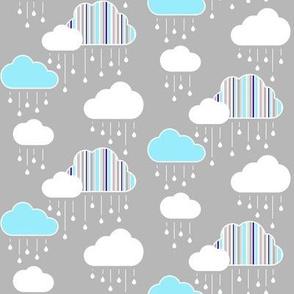 Small Clouds - Anacortes Rain Clouds