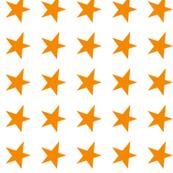 orange star on white