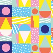 Aussie Creams Geometric
