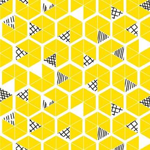 Crowded Geometric umbrellas -ch-ch-ch