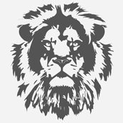 Lionhead Pillows Grey