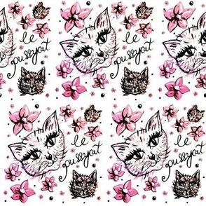 Le Pussycat Illustration