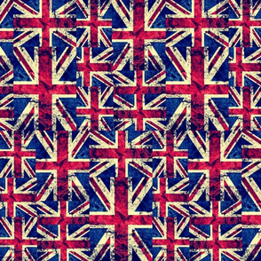 RETRO BRITISH FLAGS LARGE