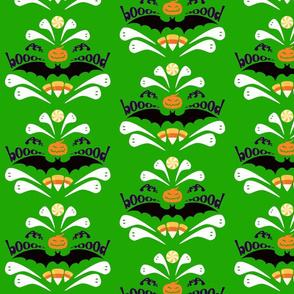 Hallo-Damask Green