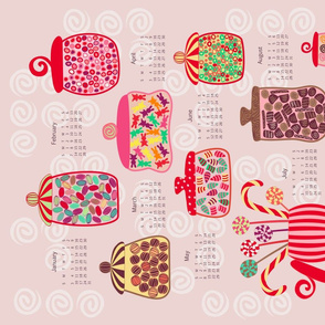 2016 Sweet Jars Calendar