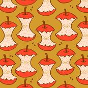 apple cores