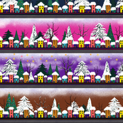 WINTER VILLAGE SNOW Small Original