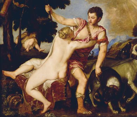 Titian - Venus and Adonis (1555)