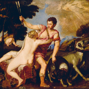Titian - Venus and Adonis (1555)