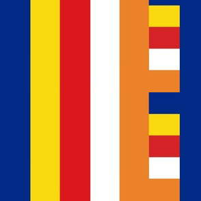 From the Buddhist FLag
