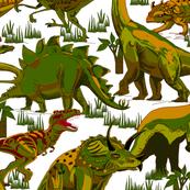 Dinosaurs_Camoflage Style.