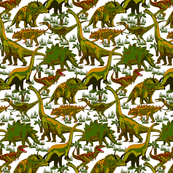 Camo Dinosaurs.