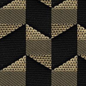 Fold -- black, beige