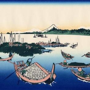Tsukuda Island in Musashi Province