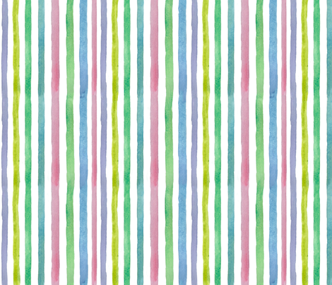Spring Stripe Vertical