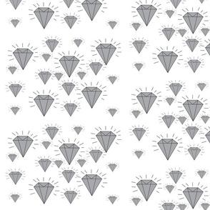 Diamonds grey