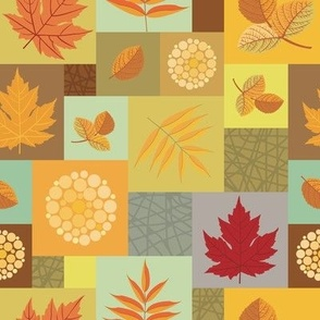 Autumn Mosaic - Leaves